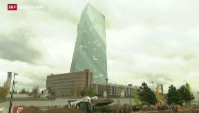 Video «EZB veröffentlicht Ergebnisse des Banken-Stresstests» abspielen