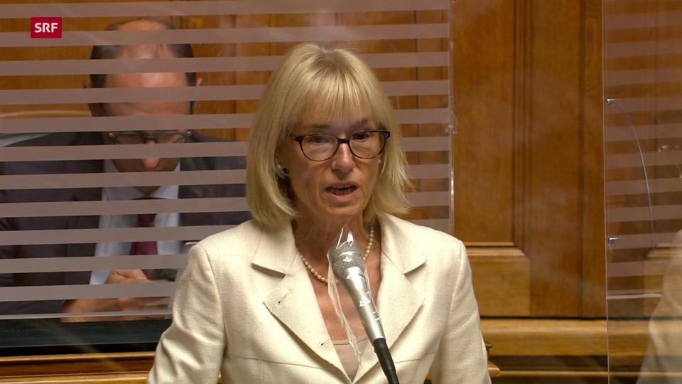 Ruth Humbel (Mitte/AG): «Wir empfehlen dem Bundesrat, die Gratistests beizubehalten»