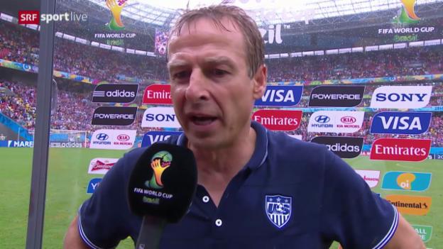 Video «Interview mit Jürgen Klinsmann» abspielen