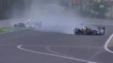 Video «Automobil: Langstrecken-WM, Crash Mark Webber» abspielen