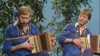 Video «Archiv – Ländlerbuebe Biel: «Scho weder Ravioli»» abspielen