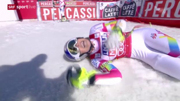 Video «Ski Alpin: Weltcupfinale 2015, Super-G Frauen» abspielen