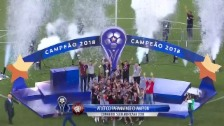 Link öffnet eine Lightbox. Video Doppeltes Penalty-Drama bei der Copa Sudamericana abspielen