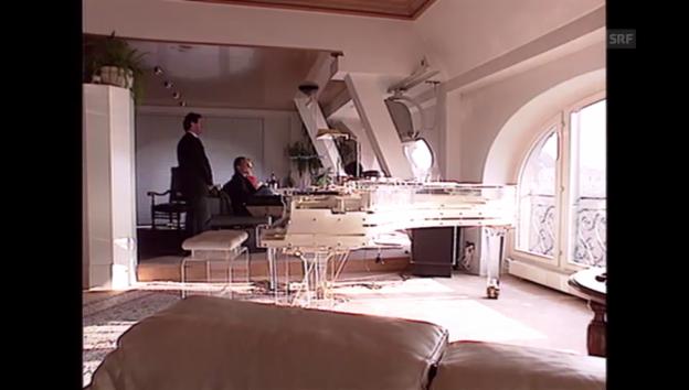 Video «Udo Jürgens zeigt sein Penthouse in Zürich» abspielen