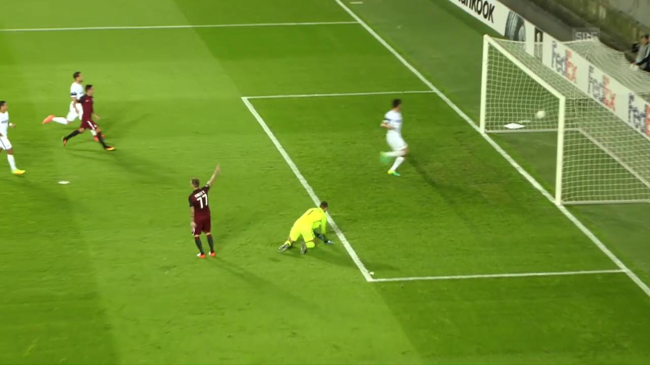 Inter verliert auch in Prag