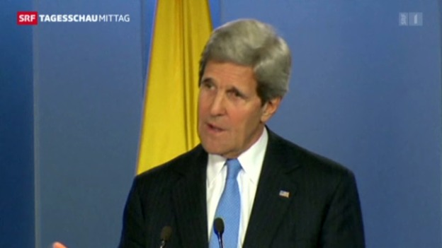 Video «John Kerry zu den israelischen Bauplänen» abspielen
