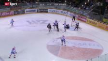 Video «Eishockey: Zug - ZSC Lions» abspielen