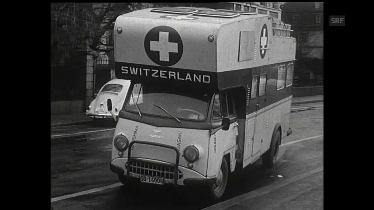 Mit dem Wohnmobil um die Welt (aus «Antenne», 1964)