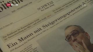 Video «Guy Parmelin in der Kritik» abspielen
