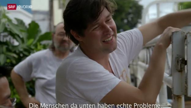 Video «Filmemacher Michael Steiner im Katastrophengebiet der Philippinen» abspielen