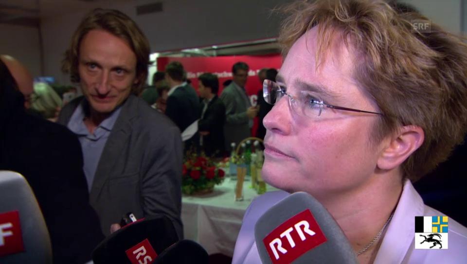 Martullo-Blocher zu ihrer Wahl in den Nationalrat