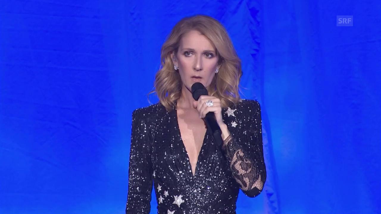 Céline Dion dankt Ärzten und Helfern