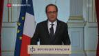 Video «Ausnahmezustand in Frankreich geht weiter» abspielen