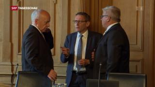 Video «Ständeratskommission bekräftigt Steuer-AHV-Paket» abspielen