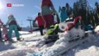 Video «Traumstart für Schweizer Skisaison» abspielen