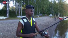 Video «Flüchtlinge in Schweden willkommen» abspielen