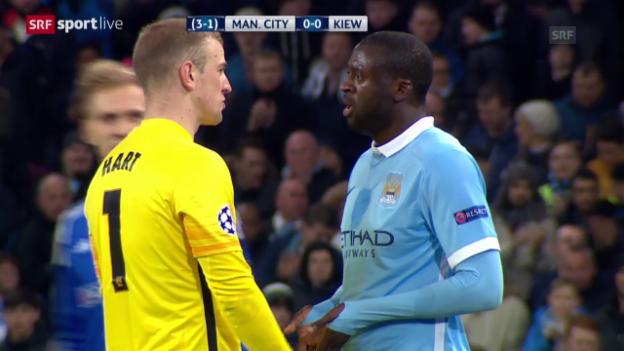 Video «Zusammenfassung Manchester City-Dynamo Kiew» abspielen
