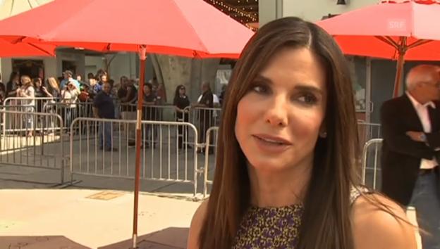 Video «Grosse Ehre für Sandra Bullock» abspielen