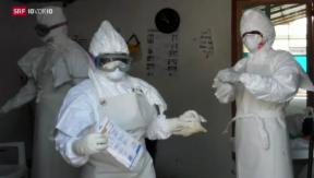 Video «Ebola: WHO ruft Notstand aus» abspielen