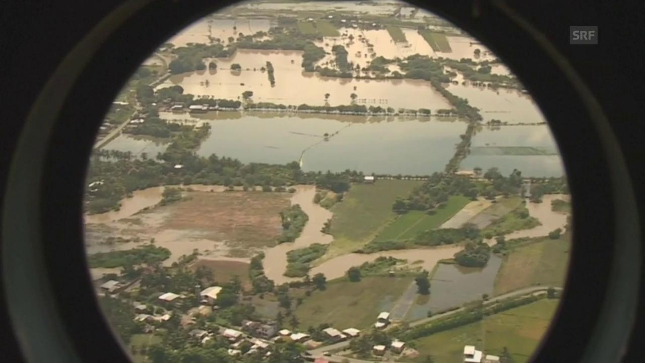 Überschwemmungen in Ecuador