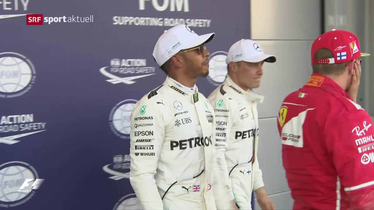 Hamilton sichert sich in Aserbaidschan die Pole