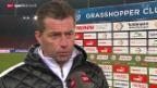 Video «Fussball: Stimmen nach GC - Luzern» abspielen