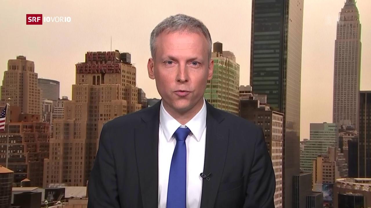 FOKUS: Live-Schaltung zu Thomas von Grünigen in New York