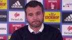 Video «Fussball: FCL trennt sich von Sportdirektor Alex Frei (6.12.)» abspielen