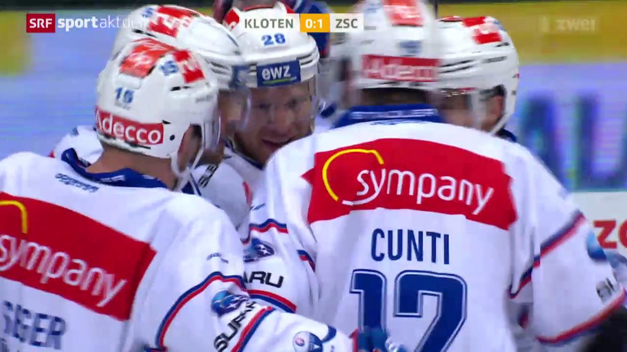 Eishockey: NLA, Kloten - ZSC Lions
