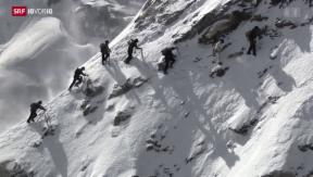 Video «Was vor 150 Jahren am Matterhorn geschah» abspielen