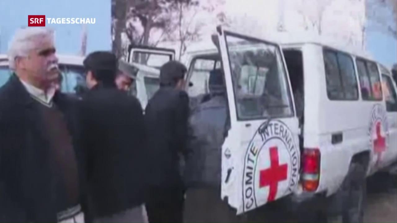 IKRK-Mitarbeiter in Afghanistan getötet