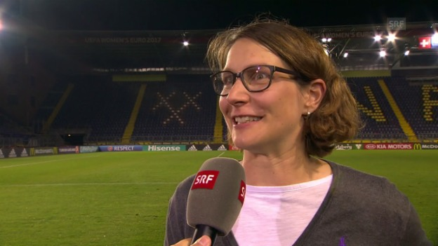 Video «Lehmanns Highlight: Dickenmanns Tor gegen Island» abspielen