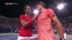 Video «Wawrinka muss sich Nadal geschlagen geben» abspielen