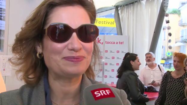 Video «Welchen Film haben Sie am häufigsten gesehen, Emmanuelle Devos?» abspielen