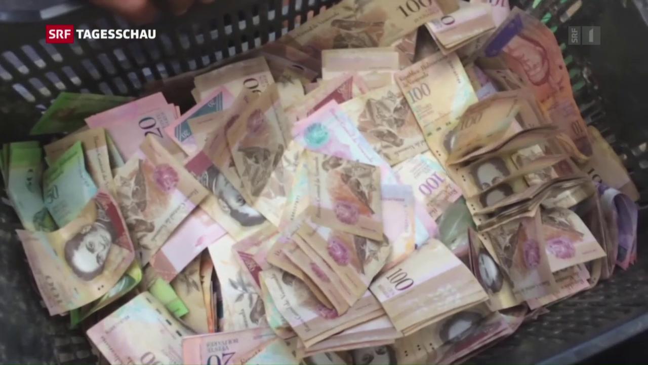 Venezolaner in Geldnöten