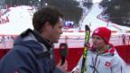 Video «Ski Alpin: Slalom Frauen, Interview mit Denise Feierabend (sotschi direkt, 21.2.2014)» abspielen