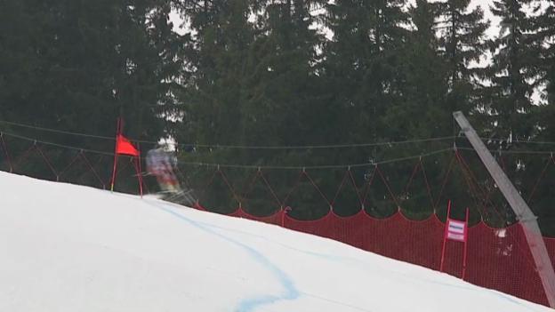 Video «Ski: Weltcup Kvitfjell, Fahrt von Jansrud» abspielen