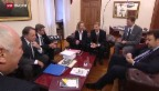 Video «Einigung mit Italien: Schweiz nimmt Rückschaffungen wieder auf» abspielen