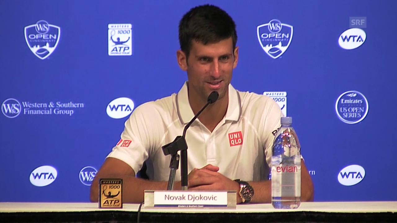 Tennis: ATP Cincinnati, Djokovic nach Sieg gegen Goffin