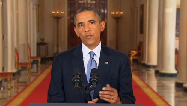 Video «Obama zu Syrien (Engl.): Wie weiter nach Russlands Vorschlag» abspielen