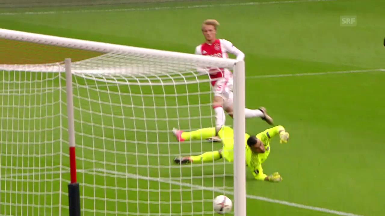 Ajax Amsterdam gewinnt Offensiv-Spektakel gegen Lyon