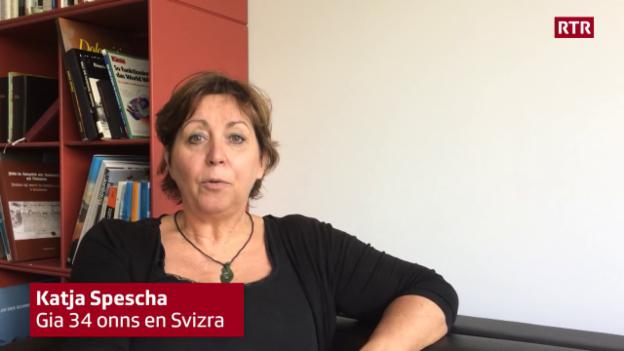 Laschar ir video «Katja Spescha vul midada …»