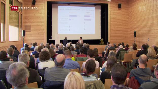 Laschar ir video «Gasetta quotidiana - in tema tar ils delegads da la Lia Rumantscha»