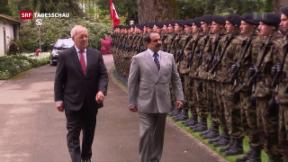 Video «Bahrains König in Bern» abspielen