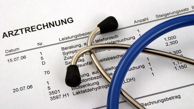 Arztrechnung – Wie lese ich sie?