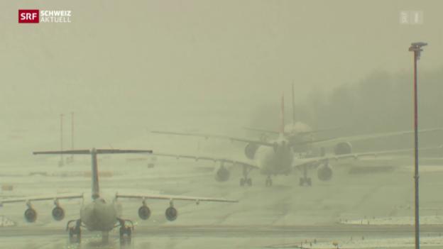 Video «Bund will Flughafenkapazität steigern» abspielen