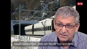 Laschar ir video «Avertura dal tunnel dal Vereina - nus eran là, vus eras là»
