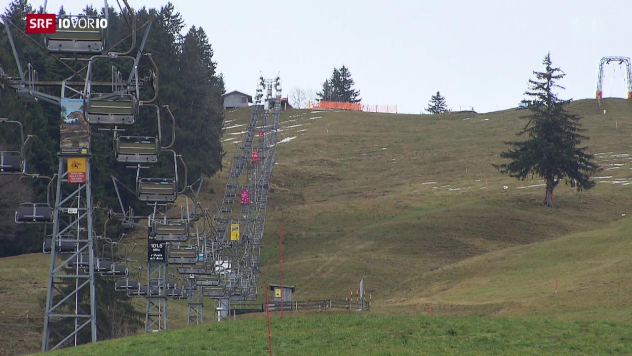 Skigebiete erwarten schlechtes Weihnachtsgeschäft