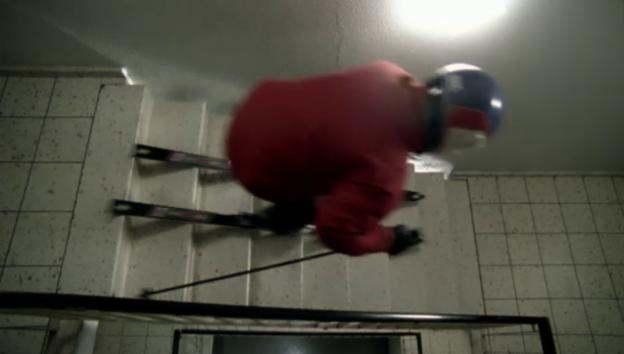 Video «Kurzfilm «Der Skifahrer»» abspielen