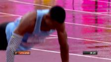 Video «Makwala: Einsames Rennen und dann 7 Liegestütze» abspielen